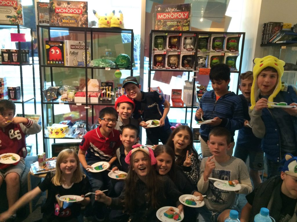 The Nostalgia Box - Venue Hire - Children Birthday Party