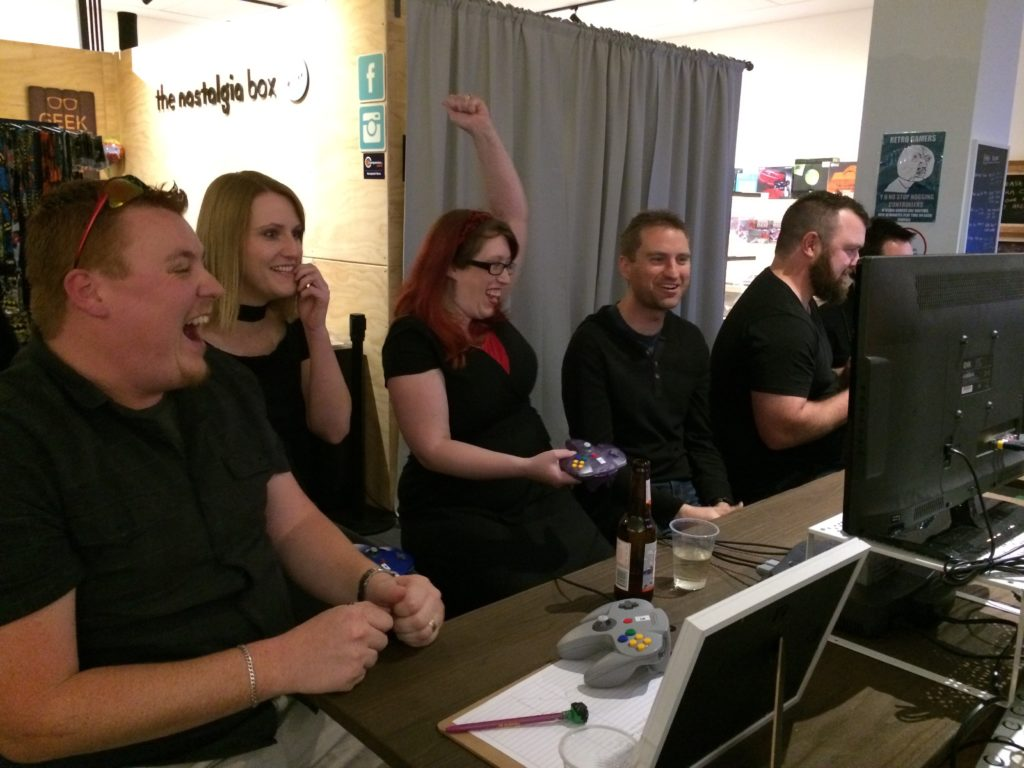The Nostalgia Box - Video Game Console Museum - Corporate Party
