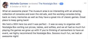 The Nostalgia Box 30th Birthday Party - Party Idea