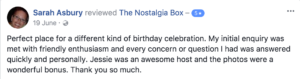 The Nostalgia Box Children Birthday Party