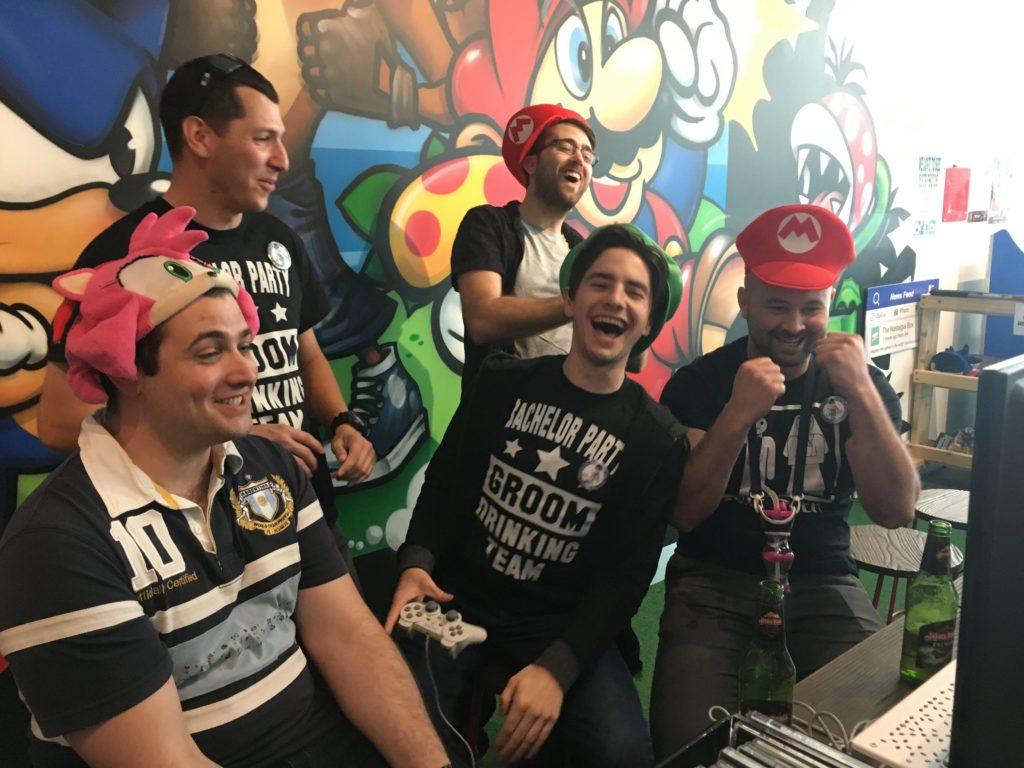Bucks Party - People having fun - The Nostalgia Box