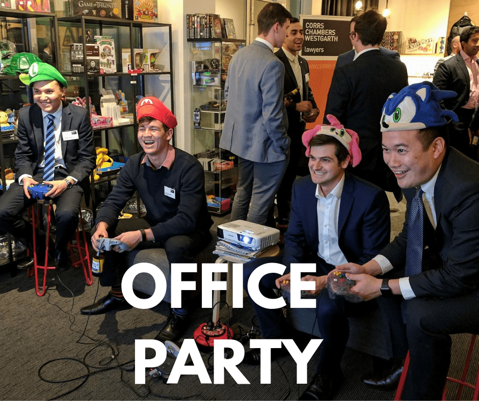 Corporate Icebreaker- Networking - Team Building Event - The Nostalgia Box - Nintendo 64 - Mario Kart 64