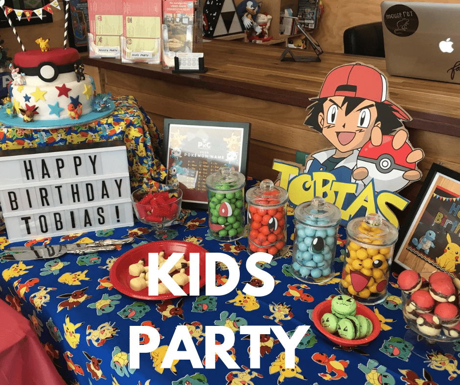 Children Birthday Party - The Nostalgia Box - Pokemon Party