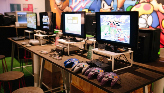 The Nostalgia Box - Video Game Console Museum - Games Area
